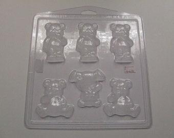 Teddy Bear Soap Mould