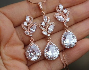 Wedding Jewelry Sets Etsy NO