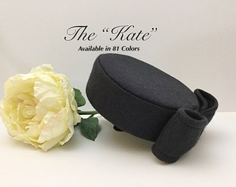 "1950's Vintage Inspired Pillbox Hat ""Kate"""