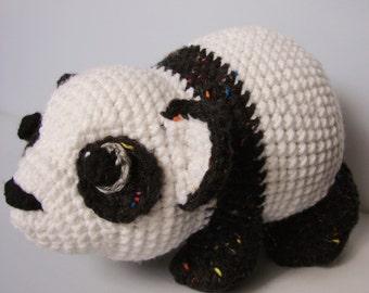 Tammi Panda Crochet Pattern Instant Download