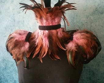 Woodland forest queen feather set
