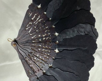 Reproduction Civil War mourning fan