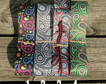 Krazy Kolorz Paisley Cinch Strap Sets, includes latigo and off billet