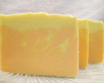 Mango Tangerine  Soap Handmade Cold Process