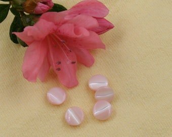 Tiny Pink Sewing Buttons