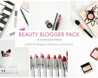 Styled Stock Photos | The Beauty Photo Pack | Blog stock photo, stock image, stock photography, blog photography