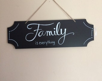 Family is Everything Wall Hanger