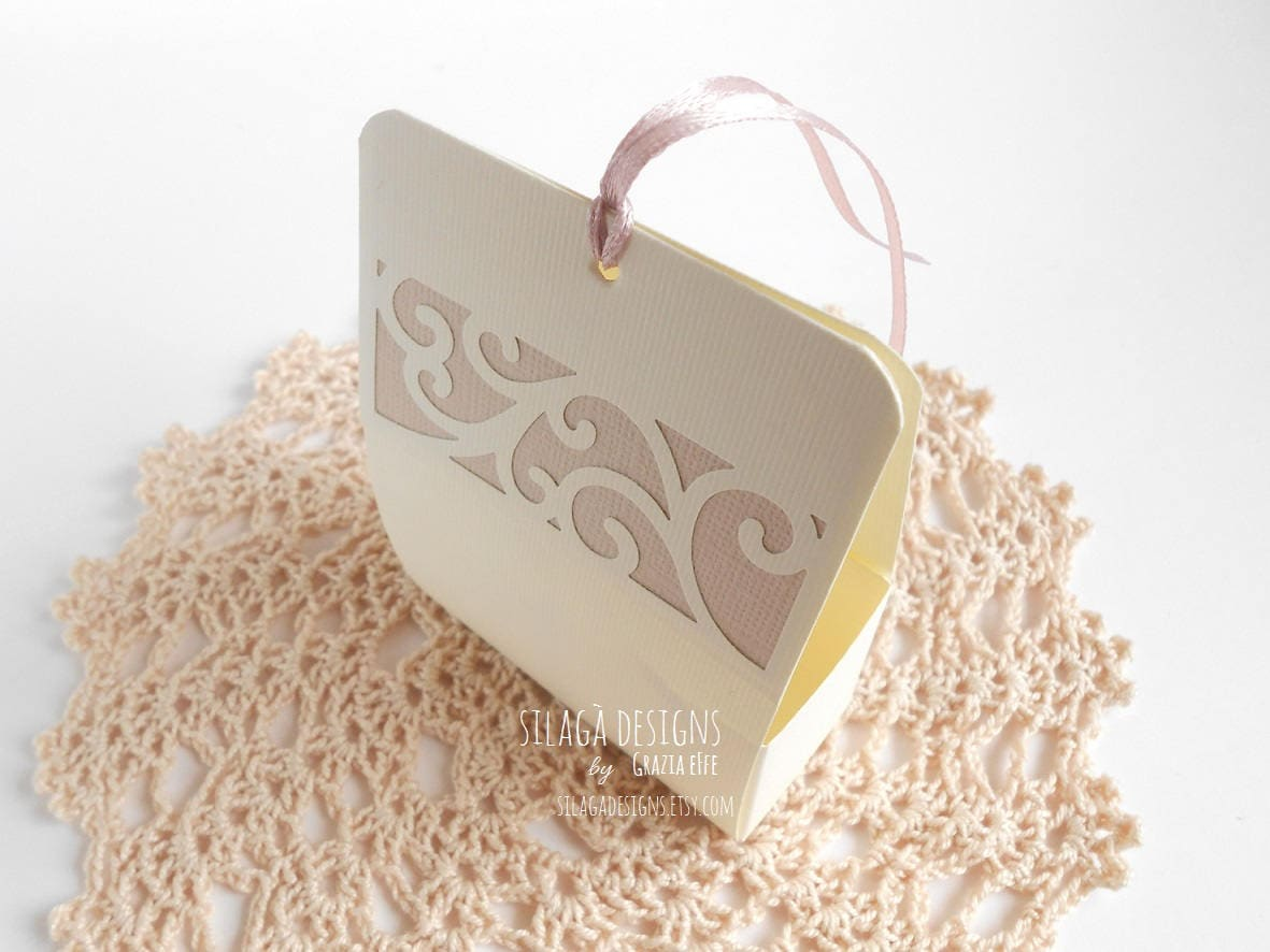 Candy almonds ivory and taupe boxes, custom wedding favor boxes ...