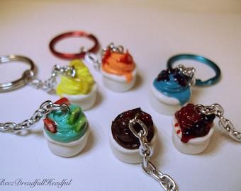 Frozen Yogurt Key Chain