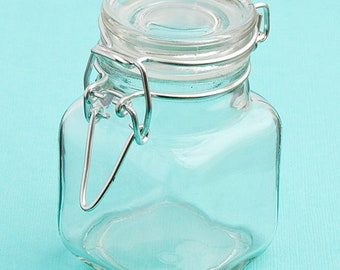 30-96 Plain Glass Apothecary Treat Jar - DIY Wedding Party Favors