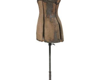 Vintage Female Adjustable Dress Form Display Mannequin