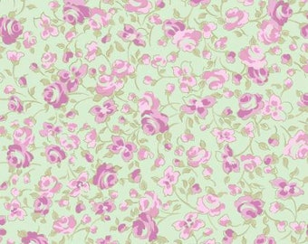 Madeline-Light Mint Toss- Clothworks -Cotton Fabric- Quilt -Apparel-WindyRobinCotton-Ships week of 3/19/2018- *Sold by half yard.