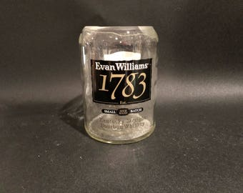 Evan Williams Candle Evan William 1783 Candle Bourbon Whiskey BOTTLE Soy Candle. 750ML. Made To Order
