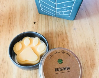 Yuzu Lotion Bar / Lotion Bar / Solid Butter Bar / Non Greasy Lotion/ Solid Lotion / Wedding Favors / Mothers Day Gift