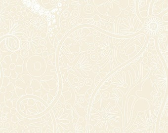 Alison Glass Diving Board A 8634 L Oyster Pearl cotton woven fabric