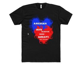 America Has Always Been Great Cotton Crew Tee