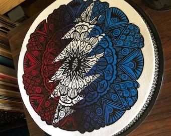 Grateful Dead Mandala Recore Mat