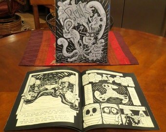 "Bunk #3: ""Papercuts"" Comic Art Zine"
