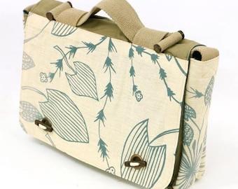 Satchel Bag - Waterlillies by Eva Nganjmirra