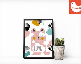 LOVE poster - Chabada Collection