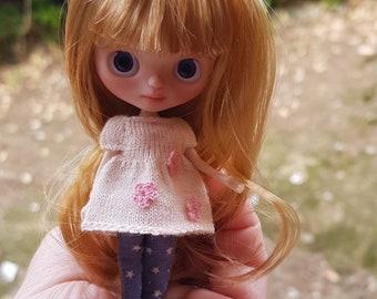 Custom petite Blythe doll