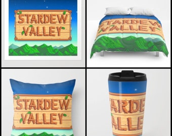 Stardew Valley - mug, pillow, blanket, tapestry, tote Bag, etc available
