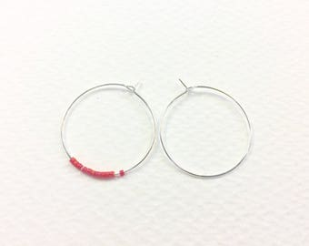 20 hoop earrings brass 30mm silver jewelry designs