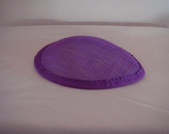 Purple Mini Teardrop Hat for Costumes (J-K)