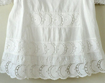 Childs Victorian White Dress