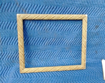 Rope Design Gold Frame #7