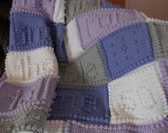 JESUS SONG - pattern for crocheted blanket
