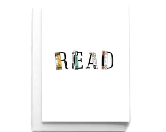 Read Just Because Card | Just Because Greeting Card | Literary Greeting Card