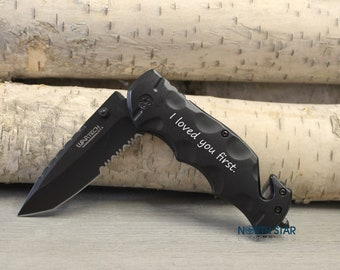 Father Daughter gift, Fathers day gift, Father of the Bride gift, Pocket Knife, Bride to Dad gift, Father gift, Wedding gift for Dad, Knife