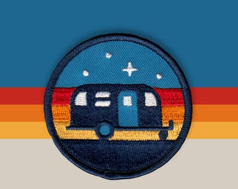 Camper Embroidered Patch