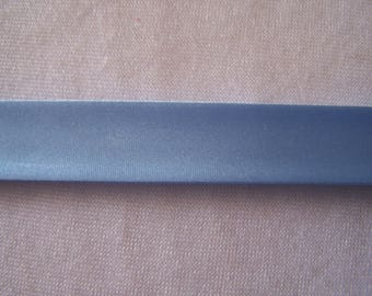 Pale blue satin bias, width 40/20 mm (S065)