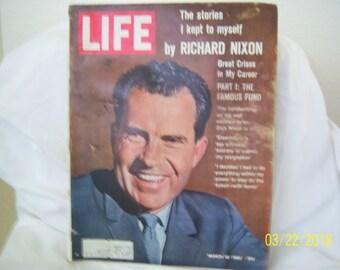 March 16, 1962 Life Magazine Richard Nixon Great Crises in my Career Vietnam