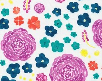 Organic Cotton Crib and mini crib sheets including Lotus 4moms Nuna Sena Chicco etc bouquet floral purple yellow blue red white lavender