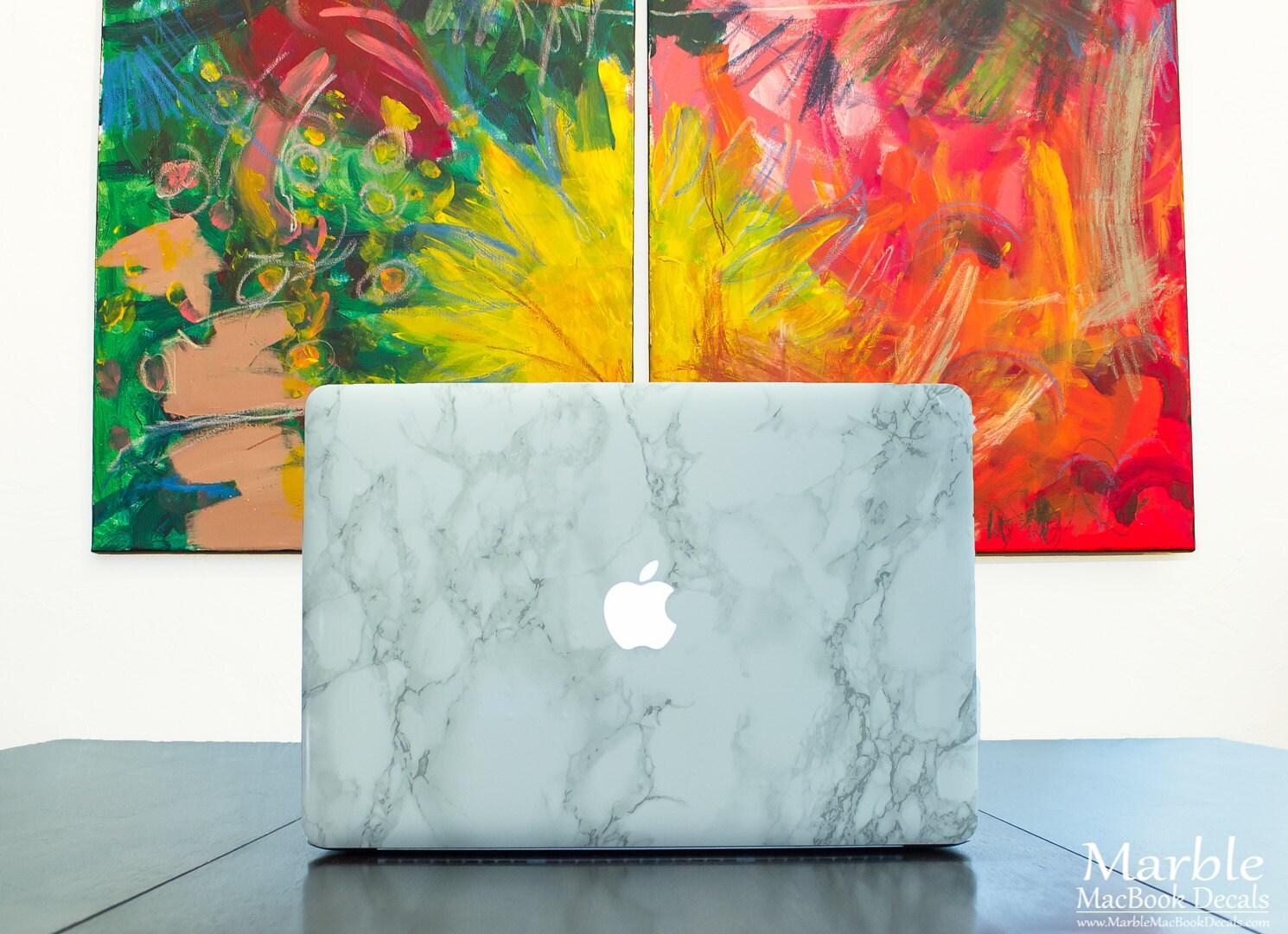 Marble Macbook Sticker Skin Made For Macbook Air Macbook