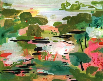 ABSTRACT LANDSCAPE no 1