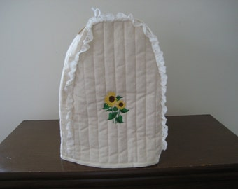 Kitchen Mixer cover sunflower design