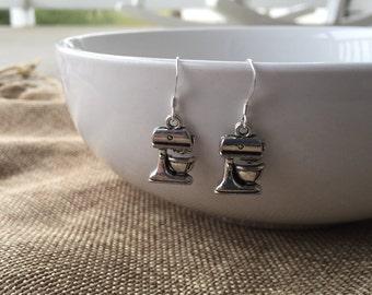 Kitchen Mixer Earrings