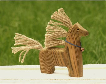 Wonderful Horse -- Wooden Toy Horse -- Interior toy
