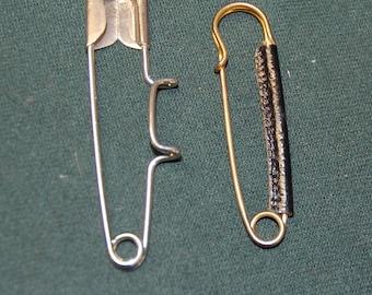 2 large pins