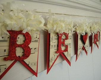Valentines Day  - Be Mine Banner