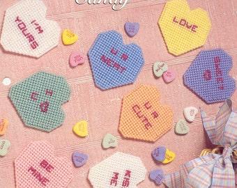 Valentine Candy  plastic canvas pattern ~ TNS