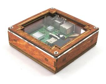 Pi Squared - for Raspberry Pi 3B+, 3, Pi2 and B+- Frame Design Top