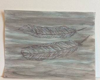 Grey Feathers