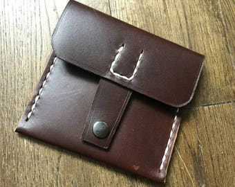 Horween Chromexcel Minimalist Wallet Version 1
