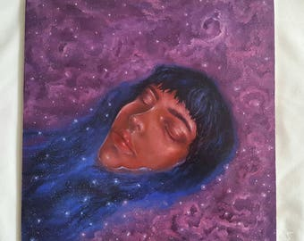 Float Among the Stars (original oil painting)