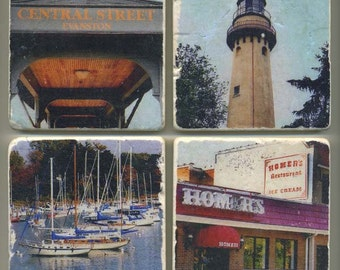 Evanston-Wilmette Collection - Original Coasters
